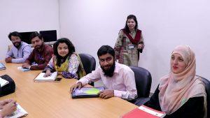 MPhil students at University of Central Punjab, Lahore. (Courtesy of the University of Central Punjab, Lahore)
